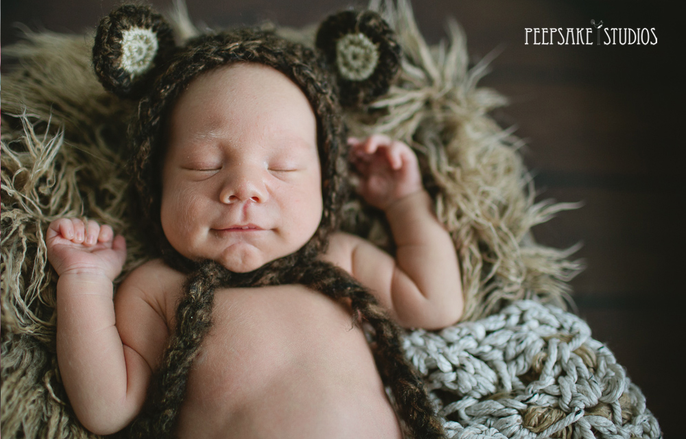 97a85bbd4 Baby Boy Bear Hat - Halloween Costume - Newborn Photography Prop - Brown  Baby Bonnet